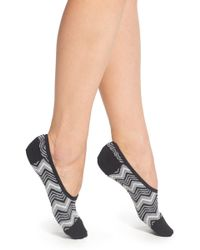 Smartwool - Chevron No-show Wool Blend Socks - Lyst