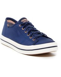 Keds Kickstart Slub Satin Sneaker - Wide Width Available 4VtCp8fwIL