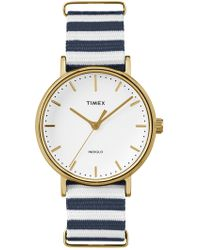 Timex - Men's Fairfield Indiglo Quartz Watch, 37mm - Lyst