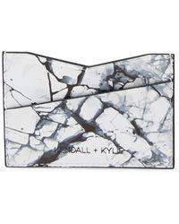 Kendall + Kylie - Eva Marble Card Case - Lyst