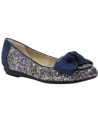 J. Reneé - Bacton Glitter Bow Flat - Multiple Widths Available - Lyst