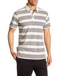 Tavik - Swift Stripe Short Sleeve Signature Fit Polo - Lyst