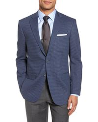 Hart Schaffner Marx - Classic Fit Stretch Check Wool Sport Coat - Lyst