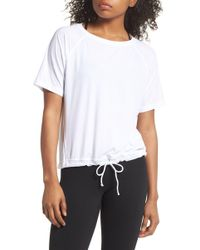 Zella - Square Up Boxy Tee - Lyst