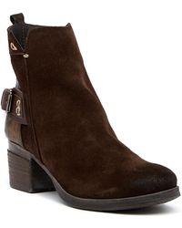 Khrio - Buckled Contrast Boot - Lyst