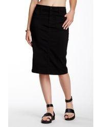 Level 99 - Briana Pencil Skirt - Lyst