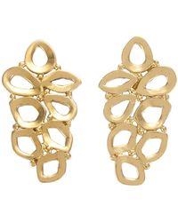 Melinda Maria - Pia Openwork Stud Earrings - Lyst