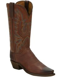 Lucchese - Cowhide Cowboy Boot - Lyst