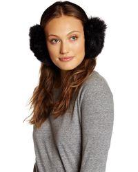 Surell - Faux Fur Velvet Earmuff - Lyst