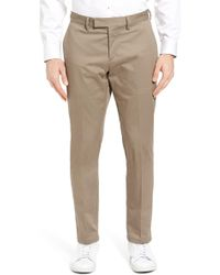 Calibrate - Slim Fit Sateen Chinos - Lyst