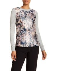 Ted Baker - Eloquent Floral Sweater - Lyst