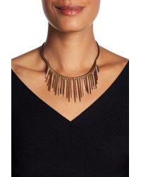 Jenny Packham - Pave Crystal Fringe Frontal Collar - Lyst
