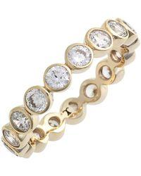 Judith Jack - Stackable Cz Bezel Ring - Size 8 - Lyst
