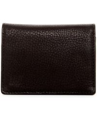 Will Leather Goods - Leather Cardfold - Lyst