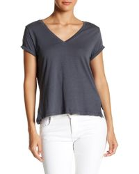 C&C California - Dee Relaxed V-neck Tee - Lyst