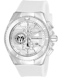 TechnoMarine - Men's Stainless Steel Os60 Quartz Watch, 46mm - Lyst