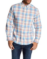 Vintage 1946 - Light Weight Plaid Print Flannel Shirt - Lyst