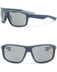 Nike - Men's Premier 8.0 63mm Rectangular Sunglasses - Lyst