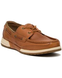Tommy Bahama - Ashore Thing Leather Boat Shoe - Lyst