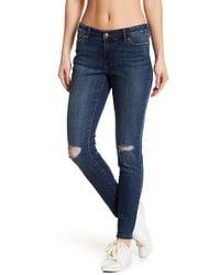 Joe Fresh | Classic Slim Fit Washed Jeans | Lyst