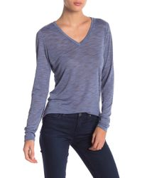 Threads For Thought - Vanessa V-neck Long Sleeve Tee - Lyst