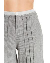 XCVI - Ebba Micro Stripe Wide Leg Pants - Lyst