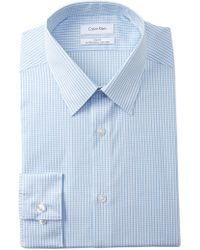 Calvin Klein - Swiss Point Slim Fit Dress Shirt - Lyst