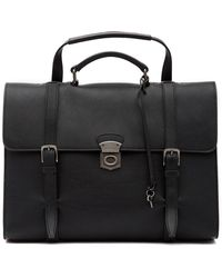 Dolce & Gabbana - Leather Briefcase - Lyst