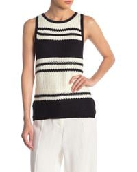 Bishop + Young Striped Tank Sweater