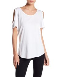 Warrior by Danica Patrick Active - Cold Shoulder Tee - Lyst