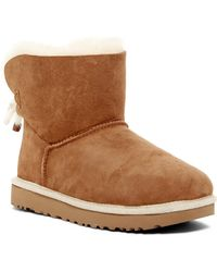 UGG - Selene Genuine Lamb Fur And Shearling Lined Boot - Lyst