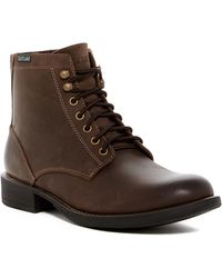 Eastland - Brent Leather Combat Boot - Lyst