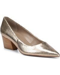 Donald J Pliner - Anni Pointed Toe Metallic Leather Pump - Lyst