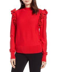 Halogen - Detachable Sleeve Sweater (petite) - Lyst