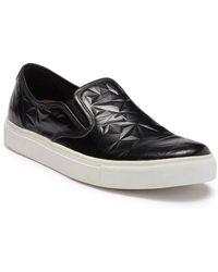 Blackstone - Diamond Embossed Slip On Sneaker - Lyst