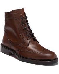 Bugatchi - Toscano Leather Boot - Lyst