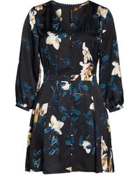 Knot Sisters - April Floral Fit & Flare Dress - Lyst