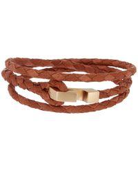 Miansai - Ipsum Braided Wrap Bracelet - Lyst