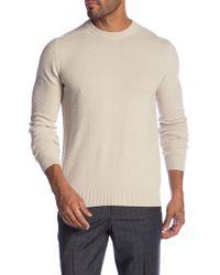 Ben Sherman - Chevron Texture Crew Neck Sweater - Lyst