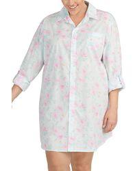 Lauren by Ralph Lauren - Plus L/s Roll Tab His Shirt - Lyst