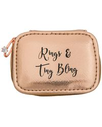 MIAMICA - Rose Gold Bridal Ring Jewelry Case - Lyst