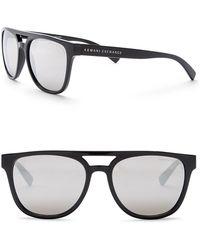 Armani Exchange - Men's Brow Bar 55mm Acetate Frame Sunglasses - Lyst
