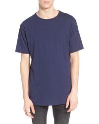 The Rail - Longline T-shirt - Lyst