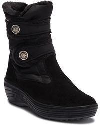Pajar - Caroline Faux Fur Snap Platform Boot - Lyst