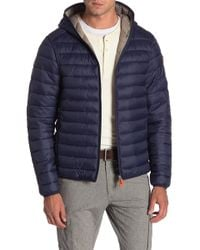 Save The Duck - Quilted Hooded Jacket - Lyst