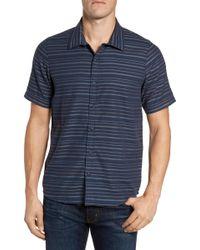 Travis Mathew - Long Board Trim Fit Sport Shirt - Lyst