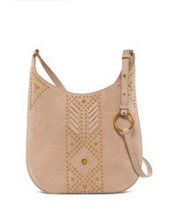 Frye - Addie Studded Leather Crossbody Bag - Lyst