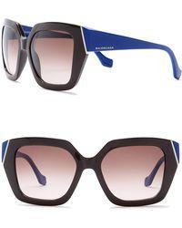 Balenciaga - Women's 57mm Oversize Sunglasses - Lyst