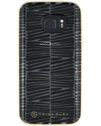 Trina Turk - Translucent Samsung Phone Case - Black - Galaxy S7 - Lyst
