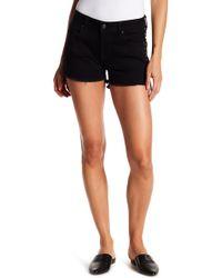 Vigoss - Studded Frayed Hem Shorts - Lyst
